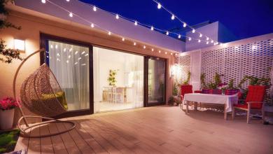 Stil Sahibi Balkonlarda Doğru Aydınlatma Fikirleri